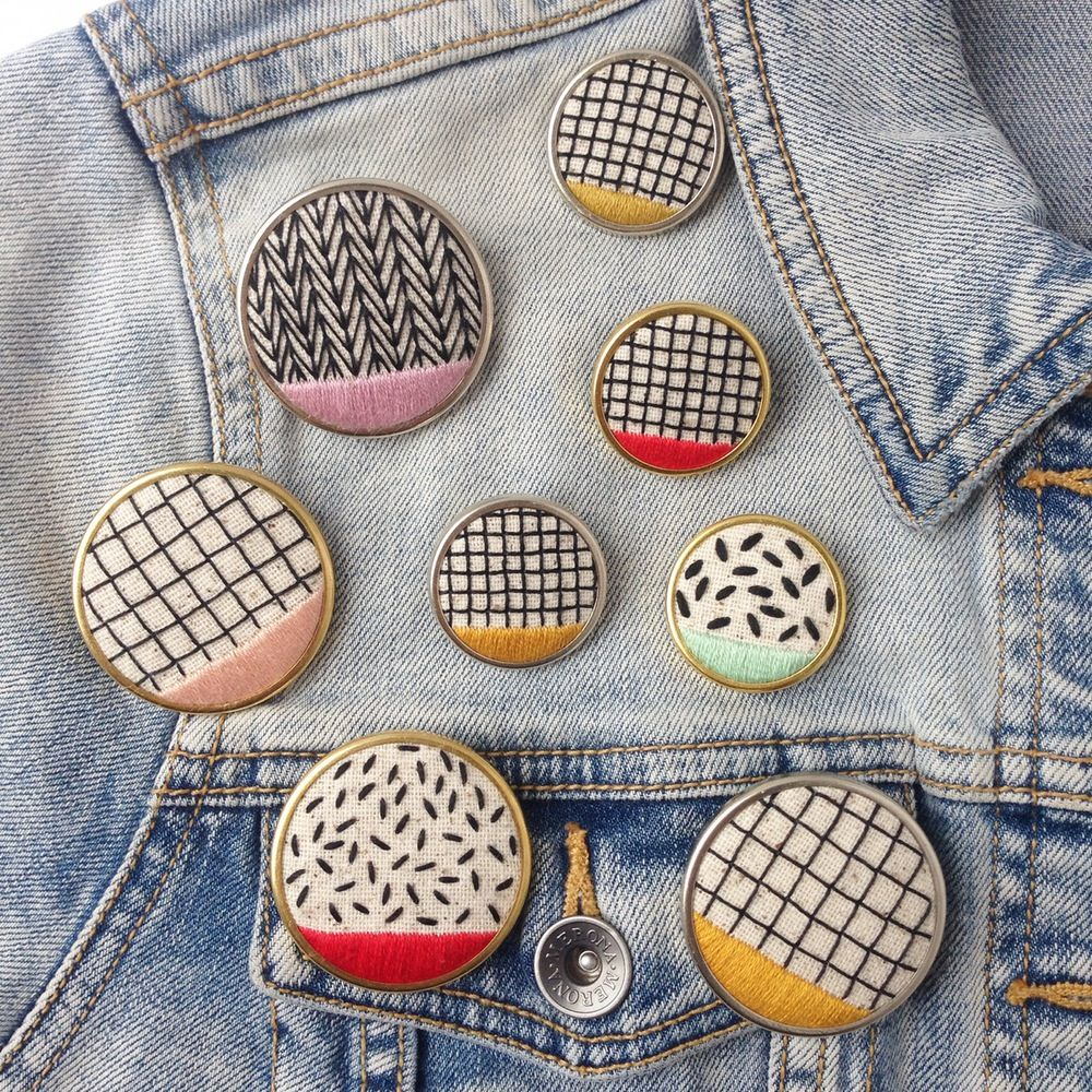 Image of Pattern Play Pins