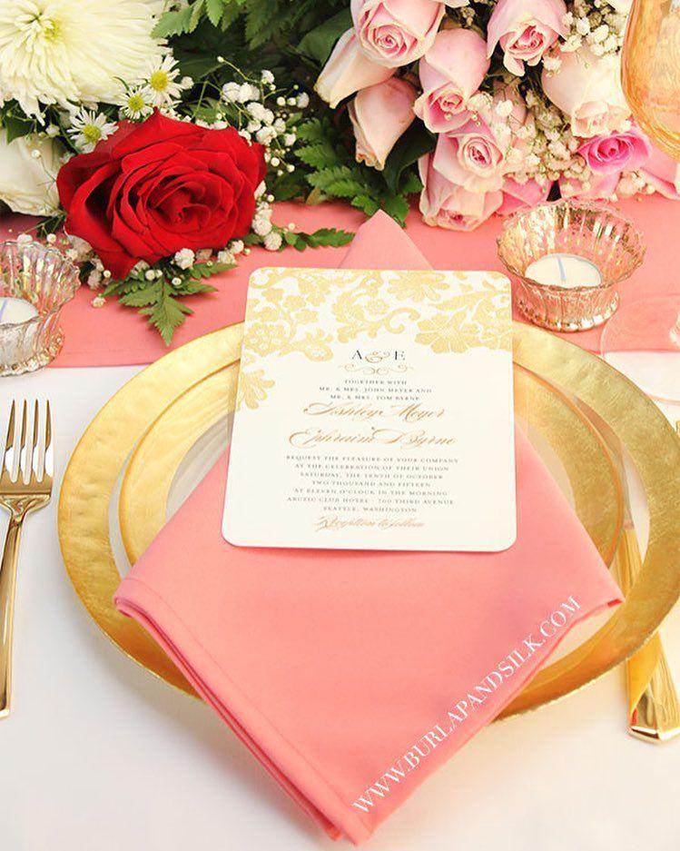 Pin By Cindy Rainne On Cindy Rainne 2019 Brand Wedding Table Linens Coral Wedding Wedding Table
