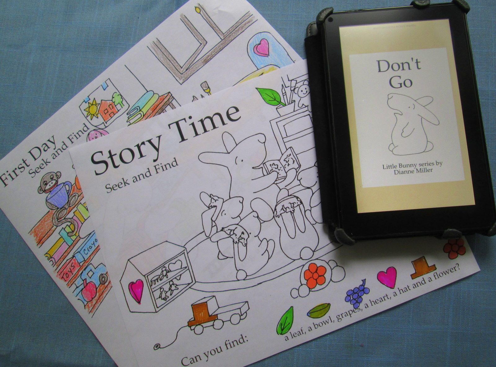 Prepare For Back To School With Little Bunny Ebooks And