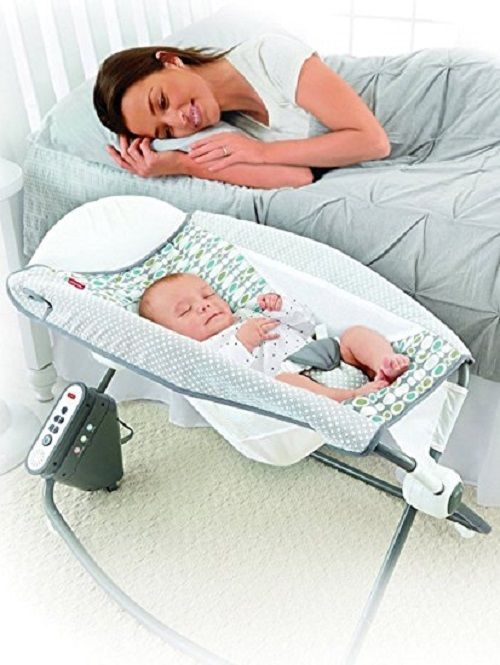 Infant Rocker Baby Sleeper Portable Vibrating Music Sound Effects Soothing New Unbranded Rock N Play Sleeper Baby Rocker Baby Sleepers