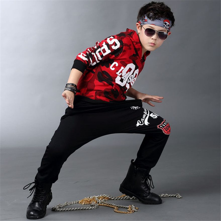 214dff14e937 Cheap Clothing Sets, Buy Directly from China Suppliers:Boys Hip Hop Outfit  Kids Streetwear Dance Costume Kids Boys Clothing Set for Autumn Spring 2018  New ...