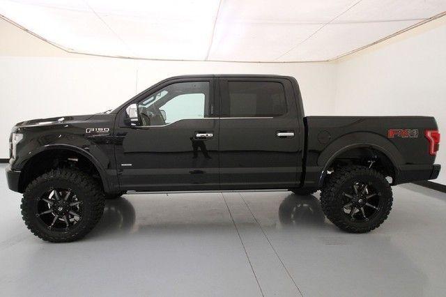 2015 F150 Platinum 6 Lift 35 Tires 20 Fuel Rims Ford Trucks Ford Trucks F150 New Trucks