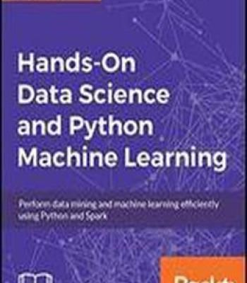 Data Science And Machine Learning With Python Hands On Pdf