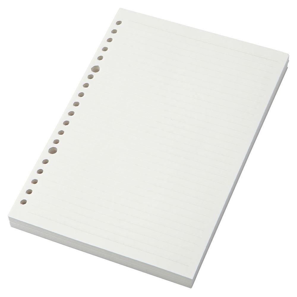 Muji Moma Afforestation Paper Loose Leaf A5 6mm Ruled 20 Holes 200 Sheets Bullet Journal Paper Bullet Journal Diy Muji