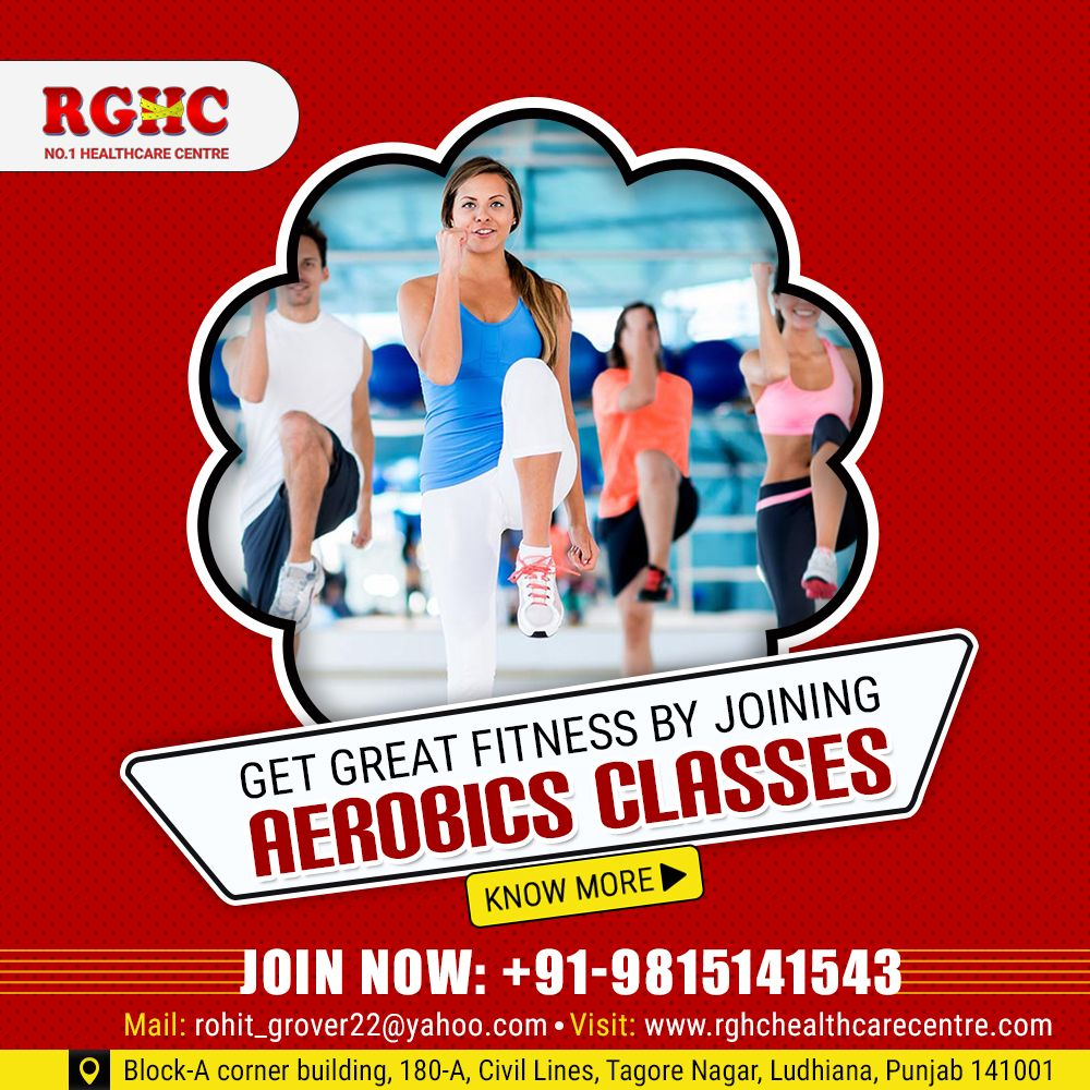 absolutely fit by joining AerobicsClasses at our