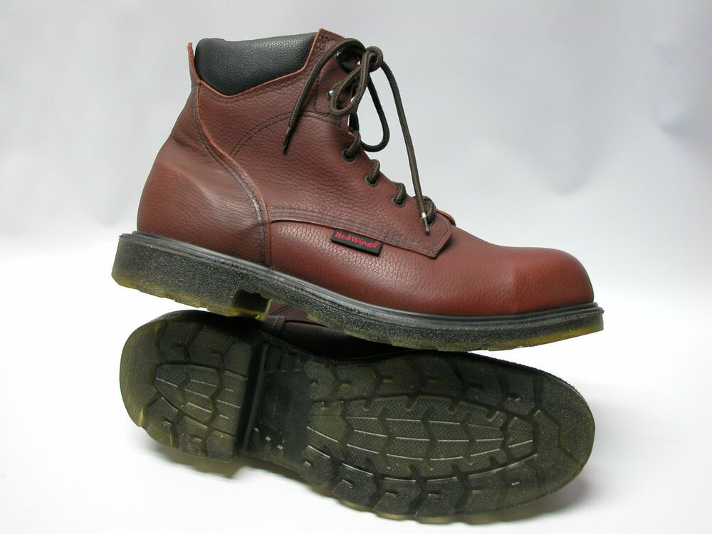 Red Wing Steel Toe Boots 2406 Mens Sz