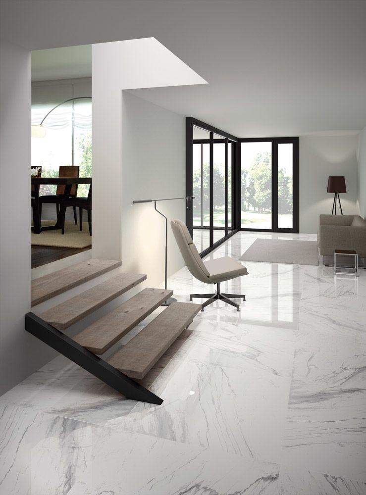 Bedroom White Granite Flooring