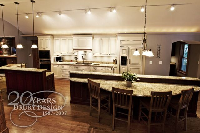 One Wall Large Island Kitchen Layout Kitchen Design Large Island Kitchen Layout One Wall