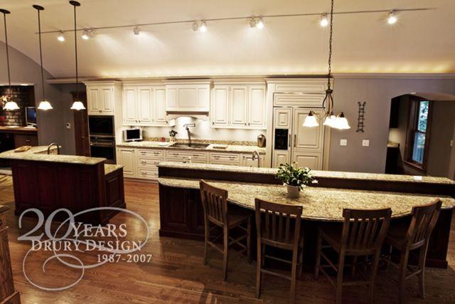 One Wall Large Island Kitchen Layout Kitchen Designs