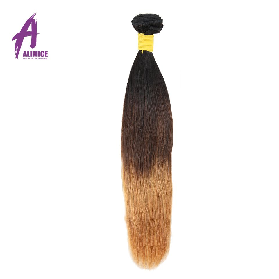 Free Shipping Buy Best Alimice Hair Brazilian Straight Hair TB