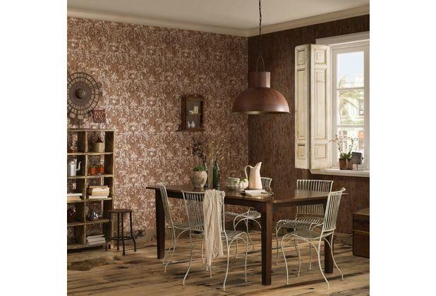 toller retro look für die küche oder das wohnzimmer. die braune ... - Schlafzimmer Retro Look