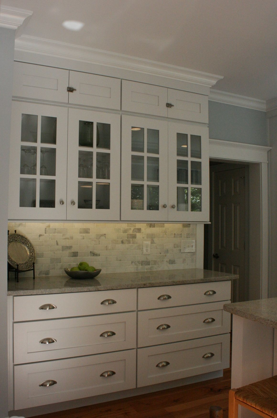 Koch Classic Cabinets In August Door Style Painted White Classic Cabinets Kitchen Cabinets Kitchen