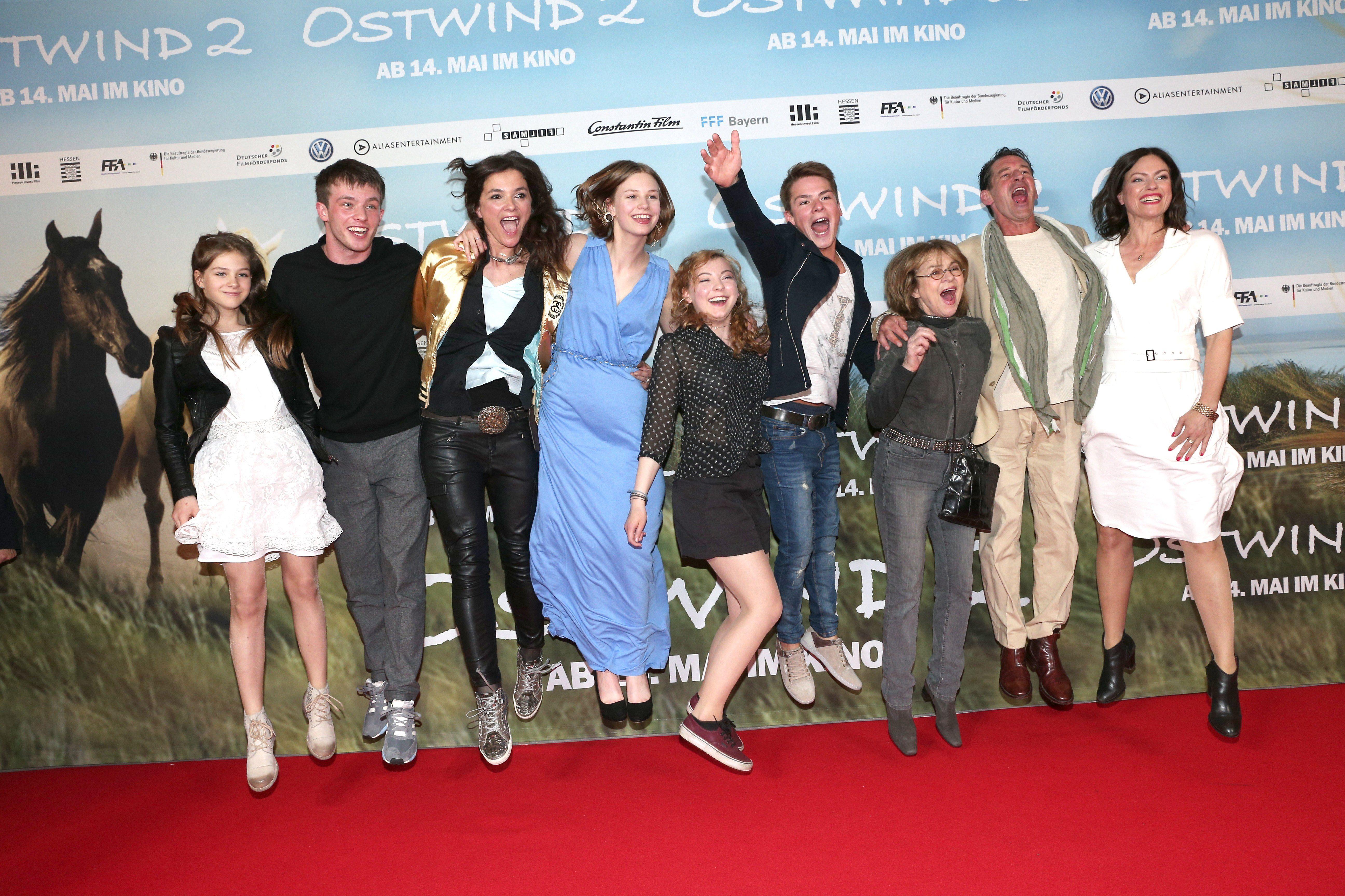 Ostwind 2 Feiert Viel Umjubelte Premiere In Munchen Ostwind Hanna Binke Ostwind Film