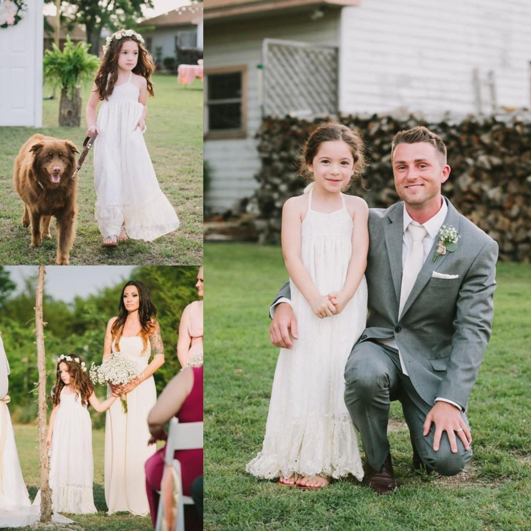 Country wedding flower girl dress best shapewear for wedding dress