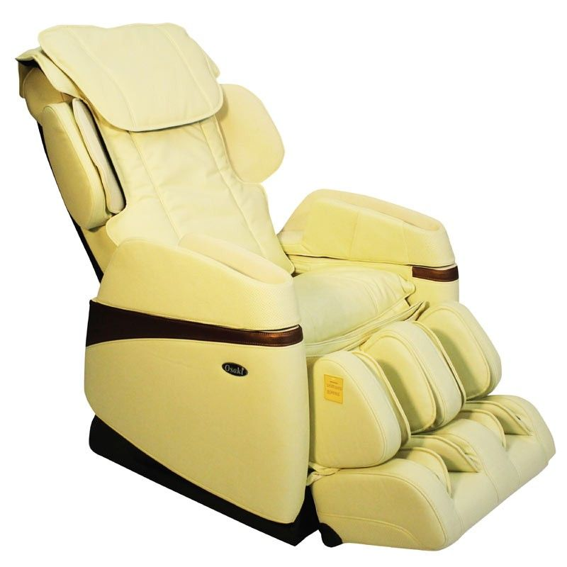 Osaki os3700 light cream massage chair os3700 lcream