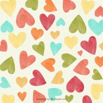 Fondo De Corazones Vintage Hearts Pinterest Heart