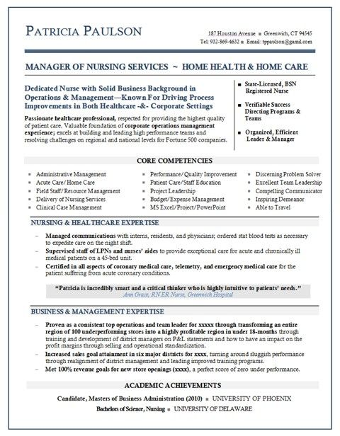 Health Care Resume Templates |   Resume Writer Mary Elizabeth