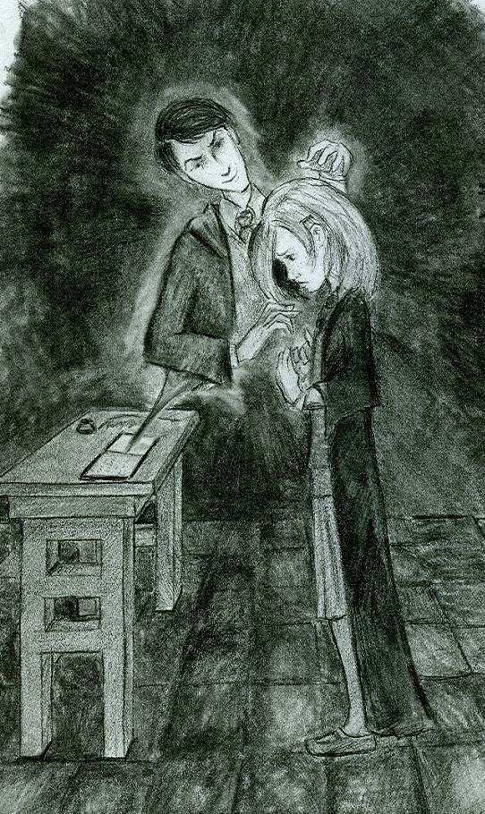 ginny and tom- large version by ~Hillary-CW on deviantART   Harry