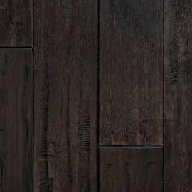 Mullican Chatelaine Hand Sculpted 5 Maple Dark Mocha Sample Hardwood Flooring