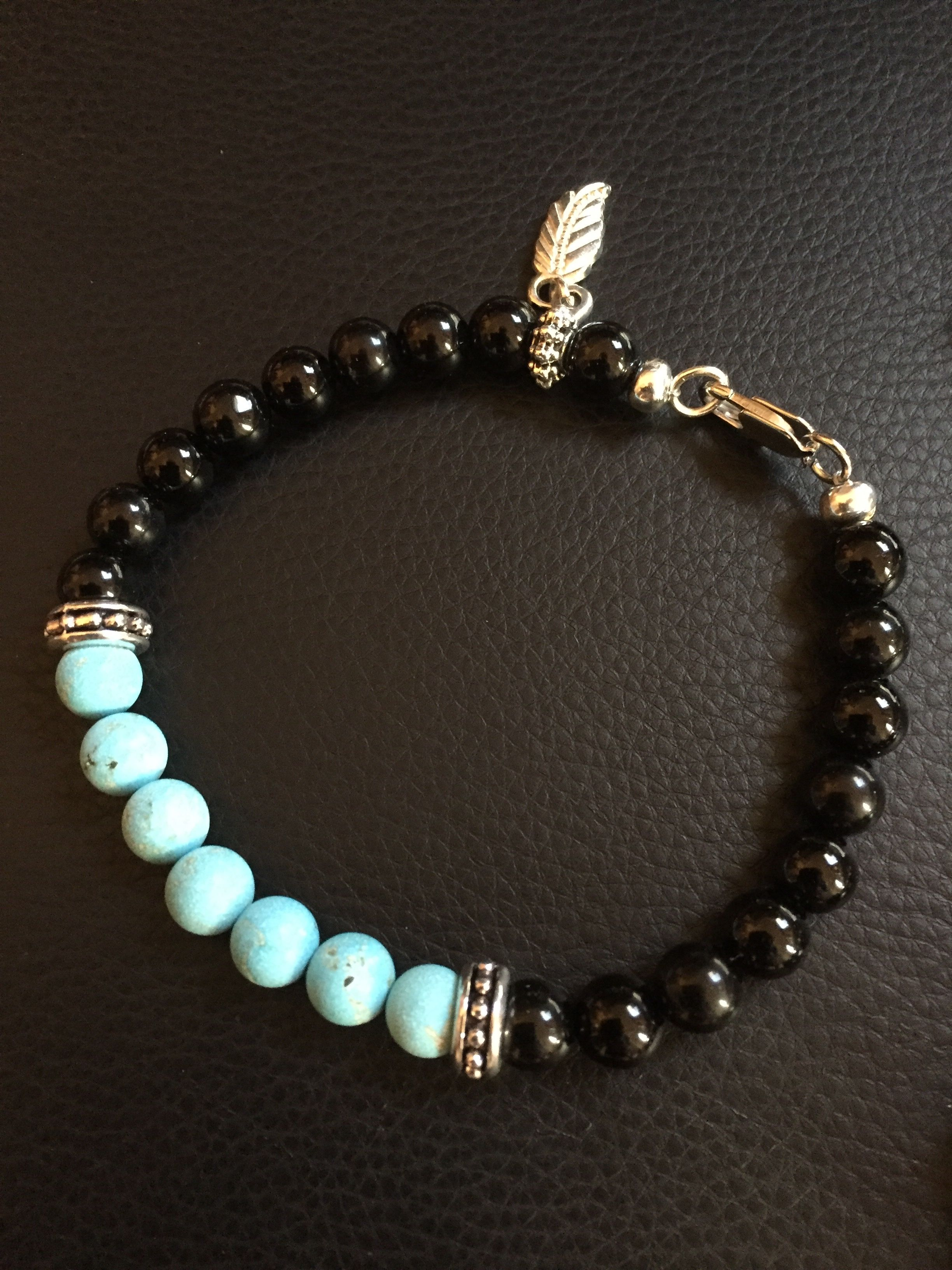 Mens Black And Turquoise Bracelet Jewelry I Ve Made But Haven T