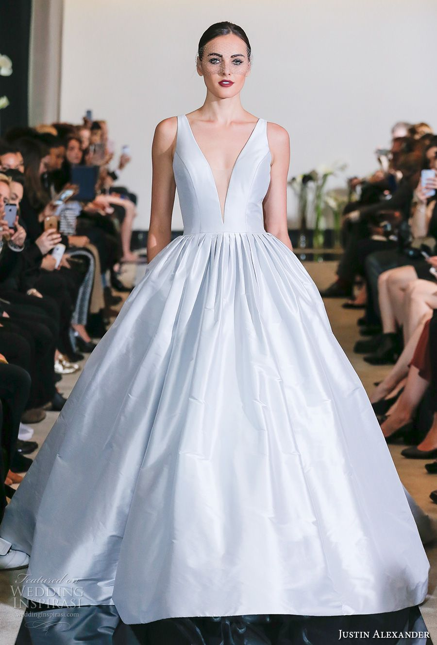 Justin alexander spring wedding dresses u new york bridal