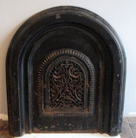 Fireplace cover and Vintage walls