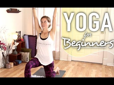 yoga for complete beginners  learning mountain pose