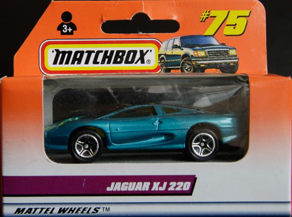 Model Matchbox Jaguar XJ 220