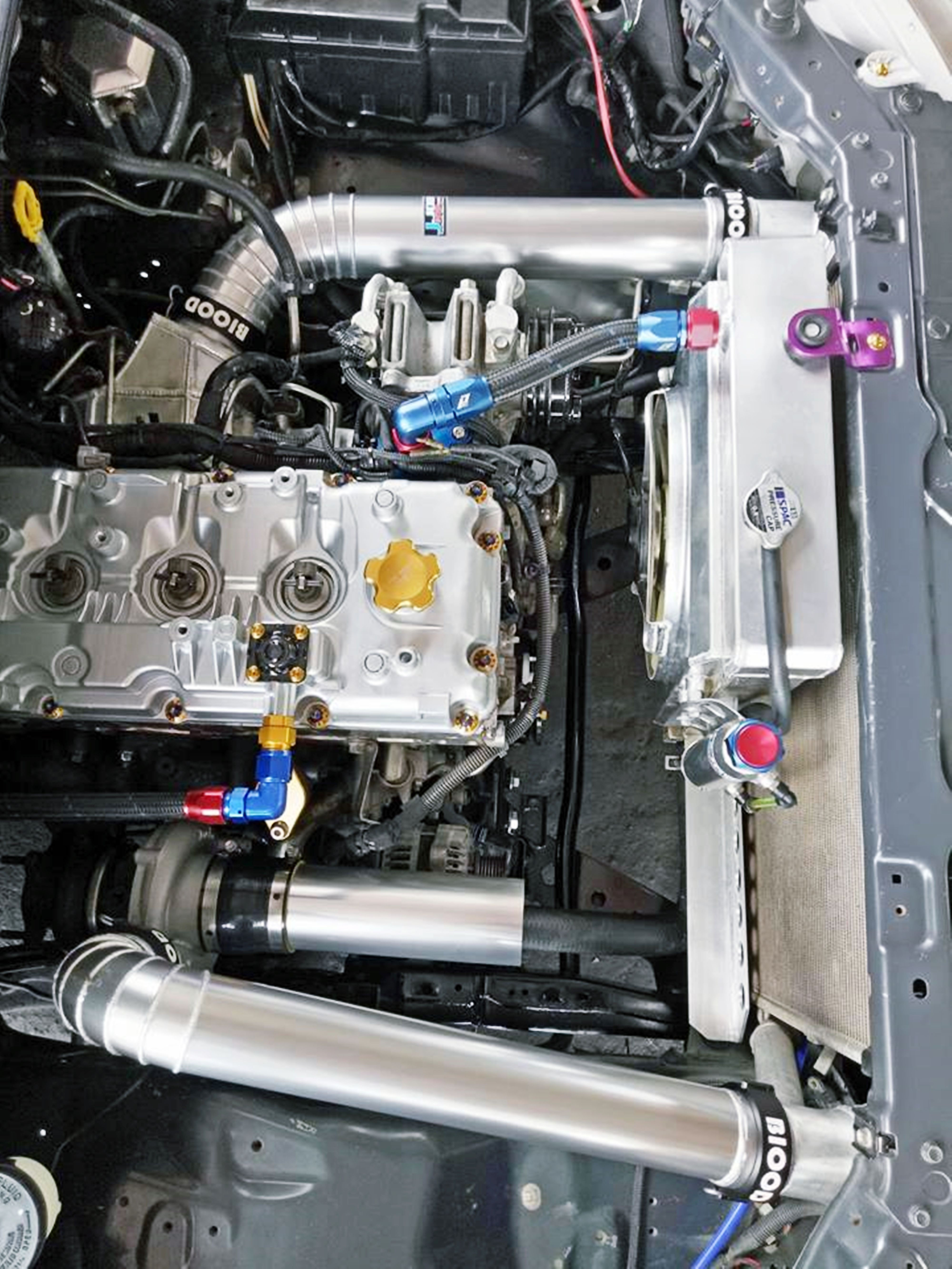 isuzu d-max diesel boost 75 psi clamp Intercooler turbo ...