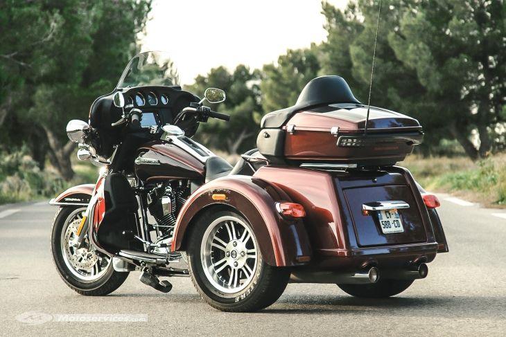 essai harley davidson tri glide ultra classic trike pinterest moto. Black Bedroom Furniture Sets. Home Design Ideas
