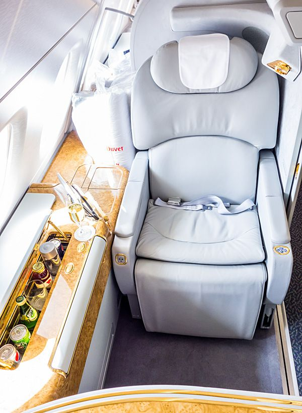 Emirates A380 First Class Dubai To Los Angeles First Class Seats Private Jet Interior First Class