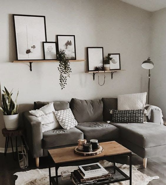 19 Simple Ideas For Diy Living Room Decor On A Budget Simple Diy Wa Wall Decor Living Room Apartment Living Room Decor On A Budget Small Apartment Living Room