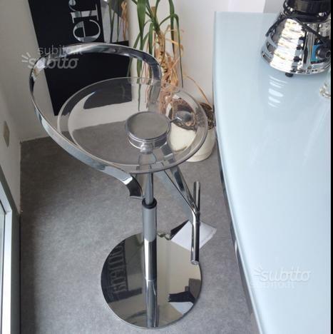 Sgabello cayman fasem regolabile cromo arredamento e for Subito it arredamento e casalinghi