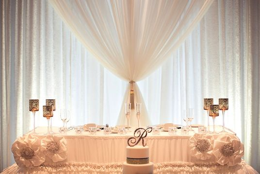 Ideas For Head Table At Wedding head table Find This Pin And More On Weddings Sweetheart Head Table