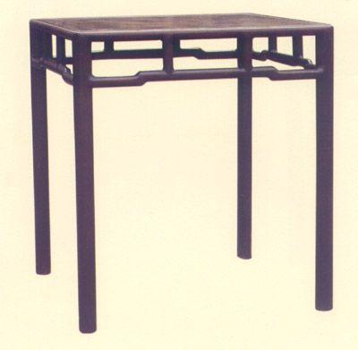清朝红木小方桌