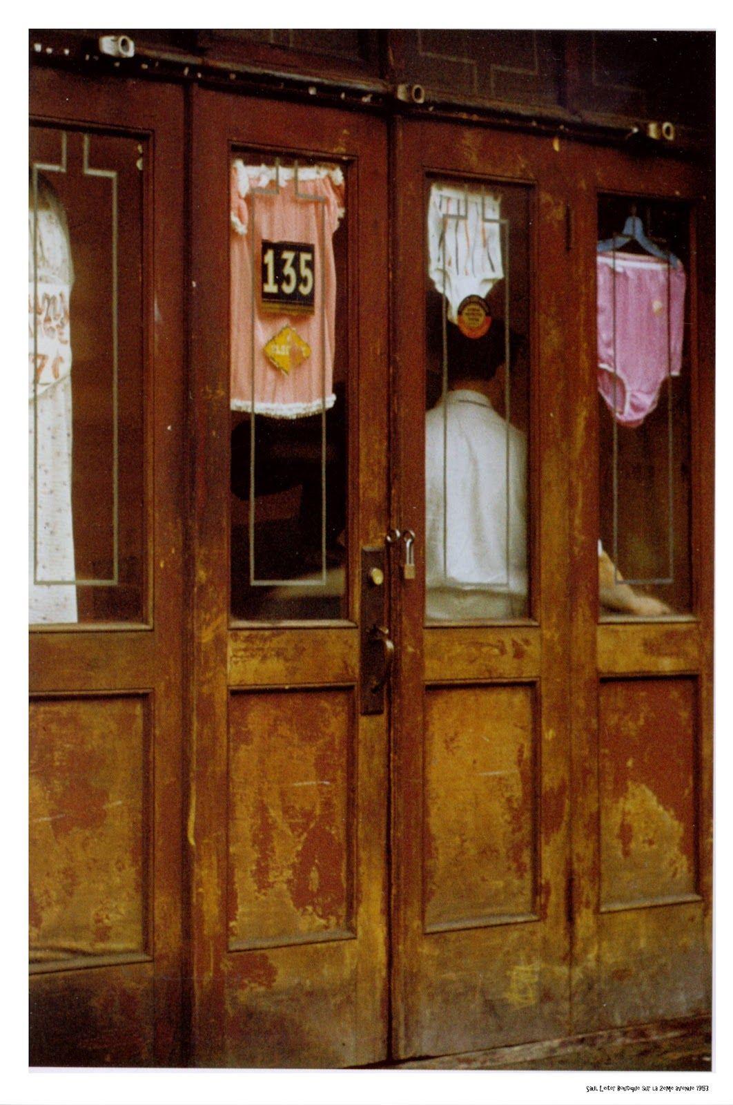 Saul Leiter - Lingerie Shop 1952