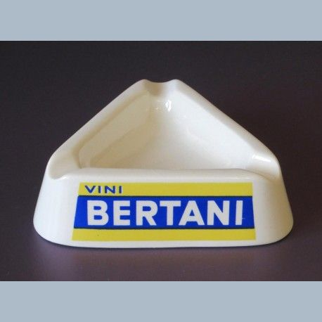 Asbak Wit Porcelein Vini Bertani Italiaans Jaren 60 Asbakken Porcelein Jaren 60