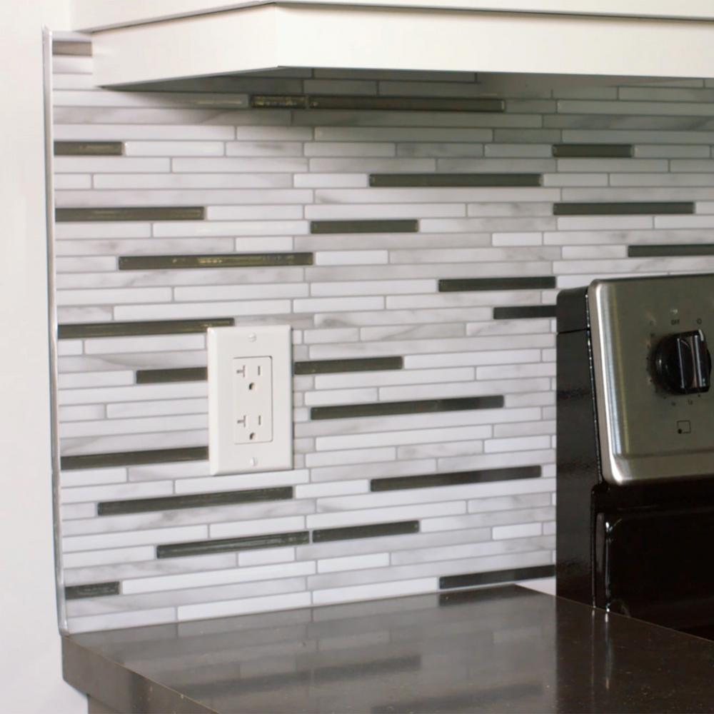 Decorative Tile Trim 18 Inx 027 Inselfadhesive Decorative Smart Edge In Brillo 4