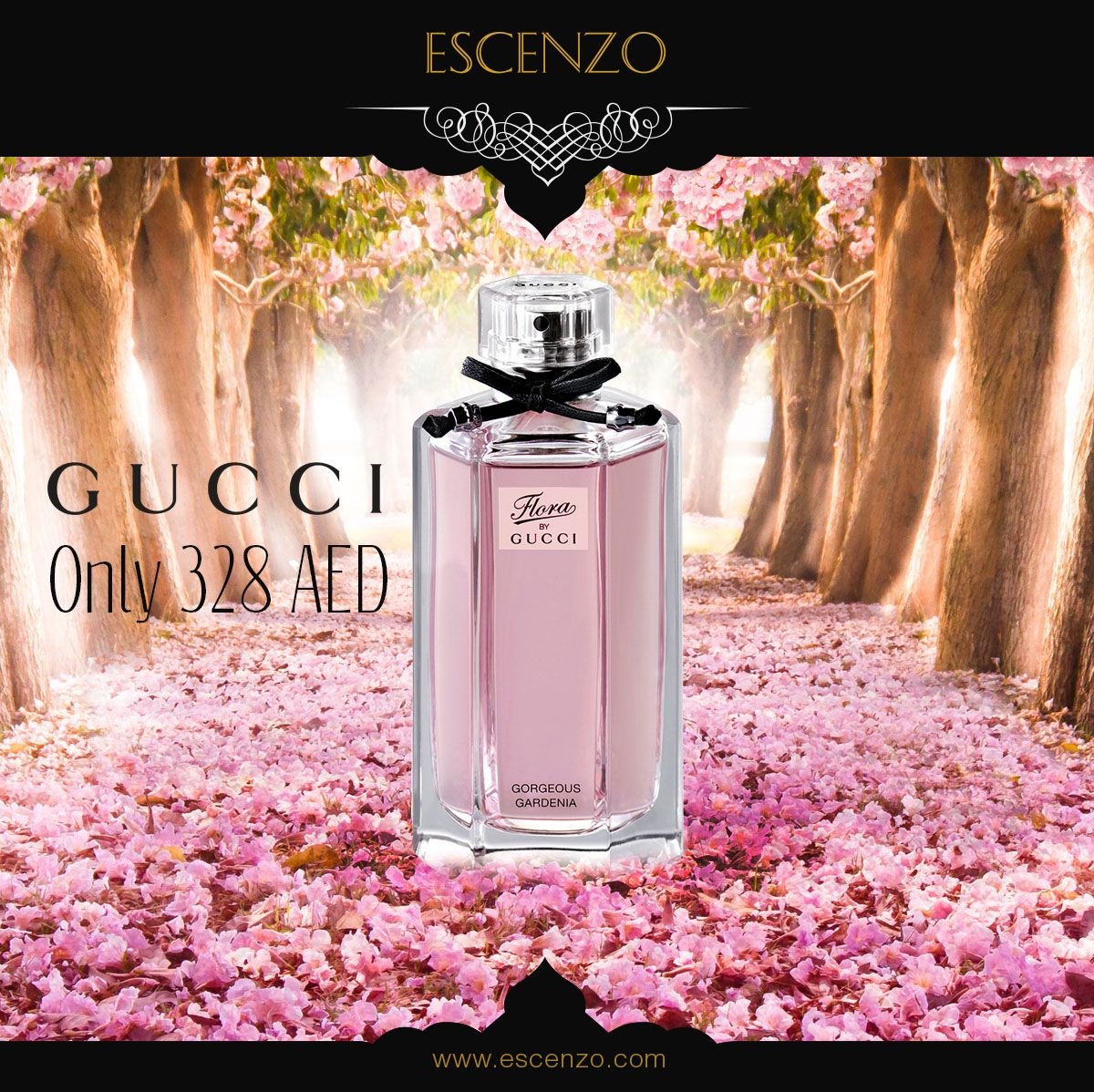 Buy Gucci Flora Gorgeous Gardenia Perfume 100ml For Women For Only 328 Aed اشتري عطر غوتشي فلورا جورجيوس جاردينيا 100 مل للن Perfume Gucci Perfume Best Perfume