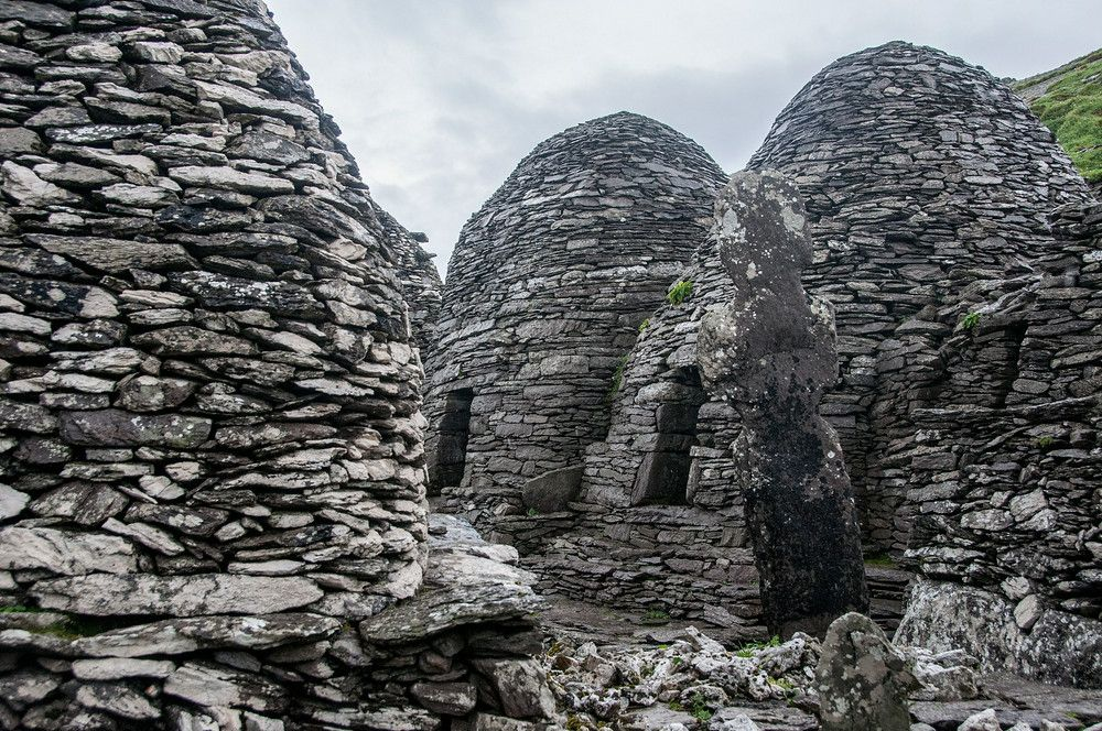 The Monastery on Skellig Michael, Ireland