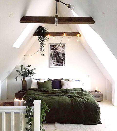 Inspiration // Chambre Vert Sapin - * Vert * | Pinterest ...