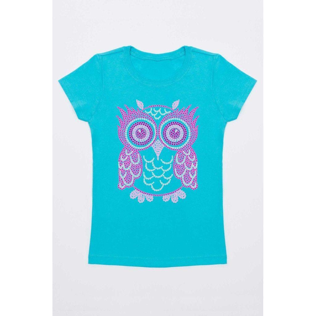 Pink Owl Tee - Girls