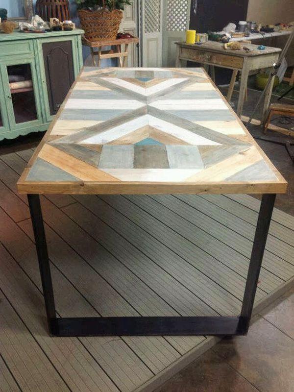 Muebles de madera reciclada deunarbol una mosca en la for Muebles de derribo