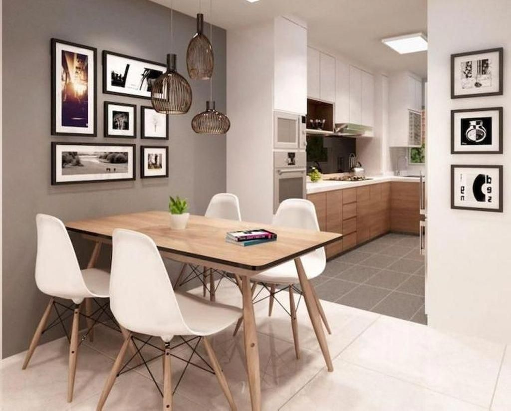 Another Alternative Is Purchasing Material Paint And Spraying It On The Cushions This Is Absol Dining Room Small Apartment Dining Room Small Dining Room Decor