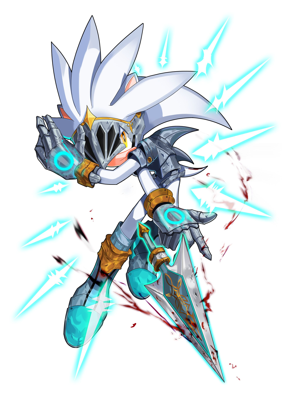 Artstation Fanart Of Sonic Sol Kim Silver The Hedgehog Sonic And Shadow Sonic Fan Art