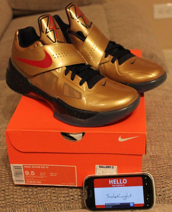 Nike KD 4 Gold Medal IV 2012 galaxy