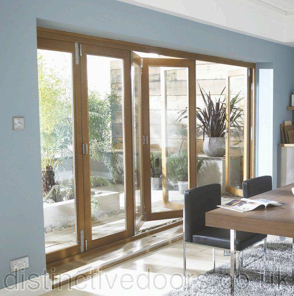 Oakfold Bifold Patio Doors & Oakfold Bifold Patio Doors | Kitchen | Pinterest | Patio doors ...
