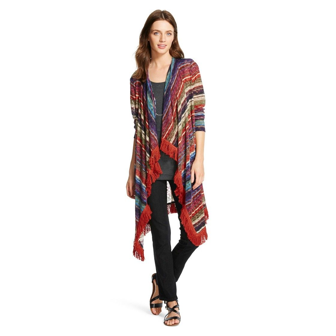 Women's Striped Sweater Cardigan - John Paul Richard | WISH LIST ...
