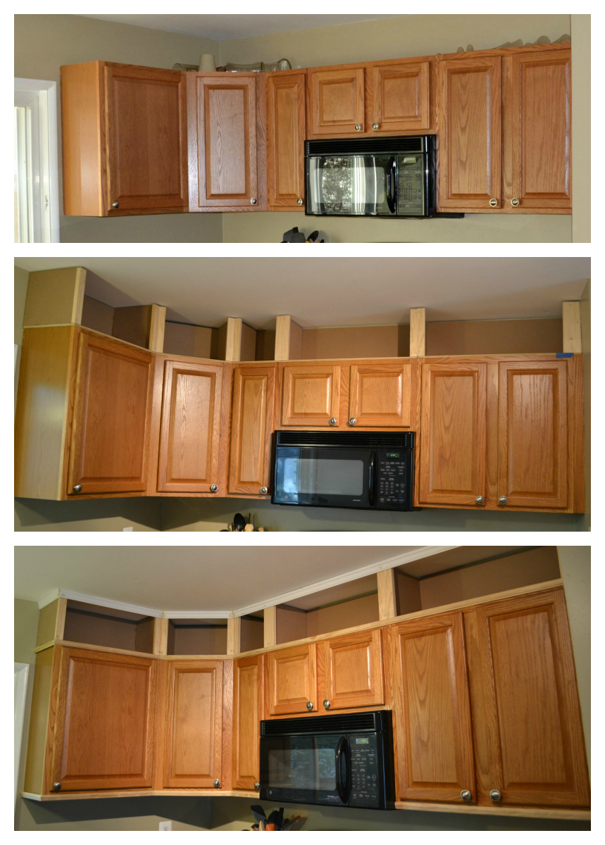 While My Family S Visit Was Short We Were Able To Do A Little More Work In The Kitchen Before Their Departu In 2020 Diy Kitchen Kitchen Renovation Cabinets To Ceiling