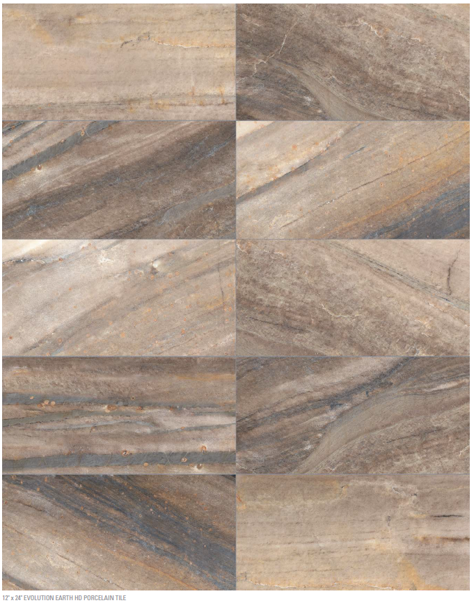 """12 Marble Floor Designs For Styling Every Home: Evolution Earth 12""""x24"""" Www.anatoliatile.com #Porcelain"""